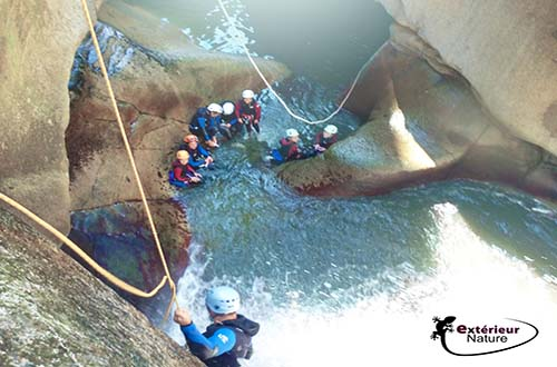 Canyoning en eaux chaudes for Exterieur nature