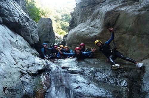 Canyoning en eaux chaudes for Exterieur nature marquixanes