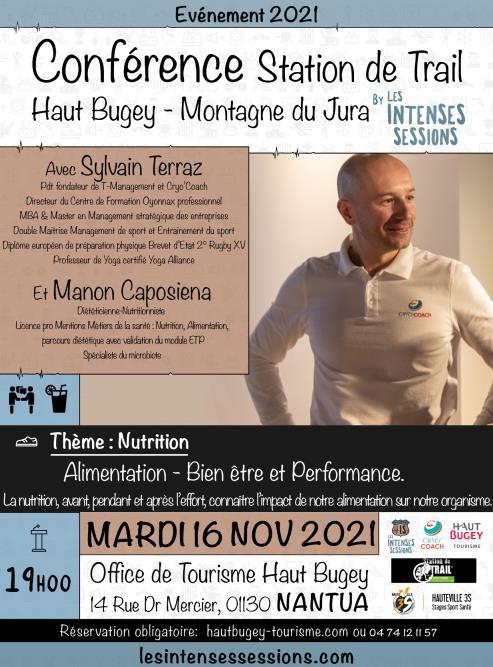 Conférence - Alimentation, bien-être et performance