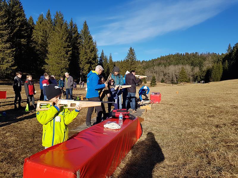 Instants sports - Initiation biathlon et tir carabine laser