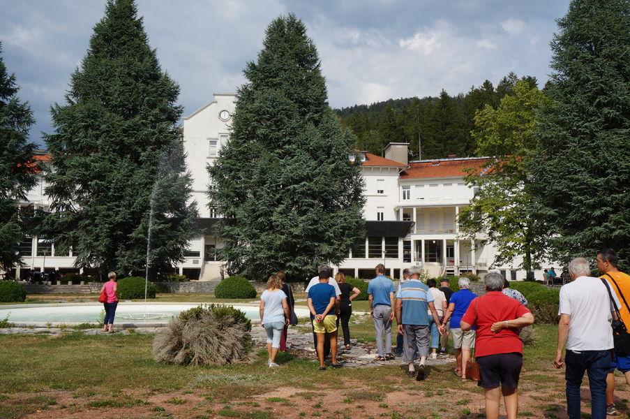 Instants visites - Mangini : premier sanatorium de France