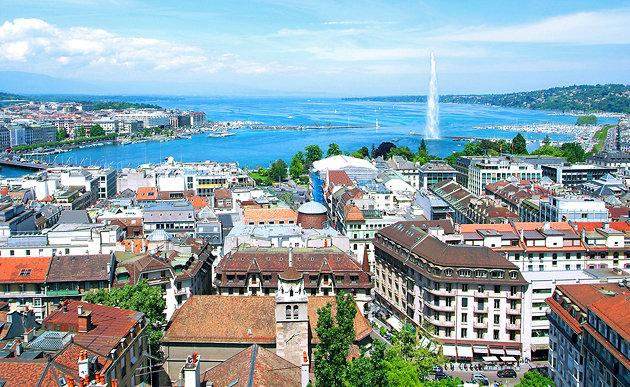 Genève et la croisière de la petite sirène