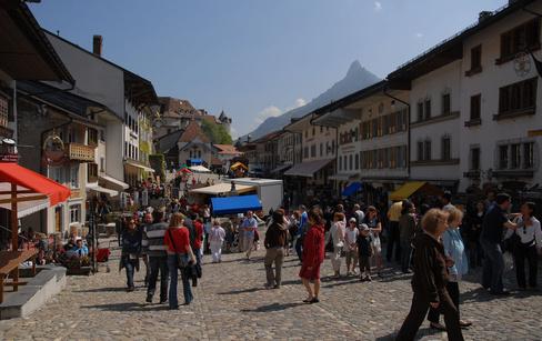Fête du fromage à GRUYERES (Suisse)