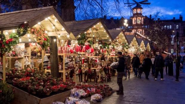 Marché de Noël à Montreux - Soirée