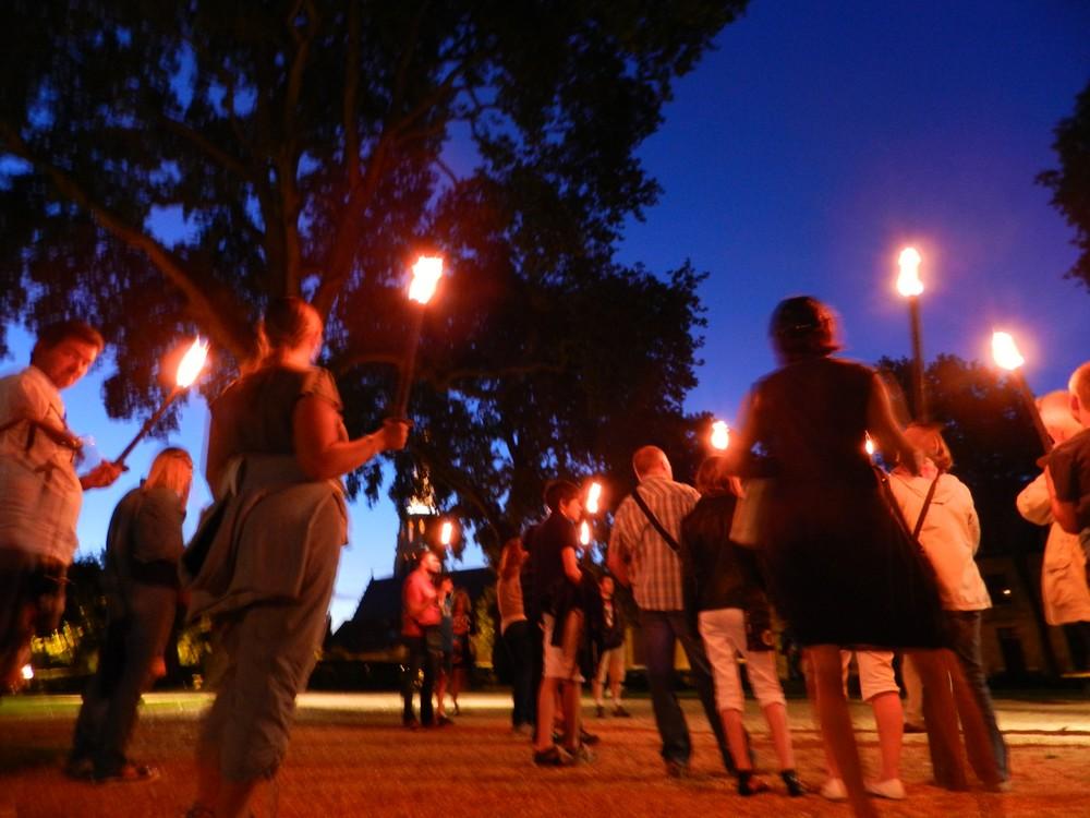 Promenade nocturne aux lanternes
