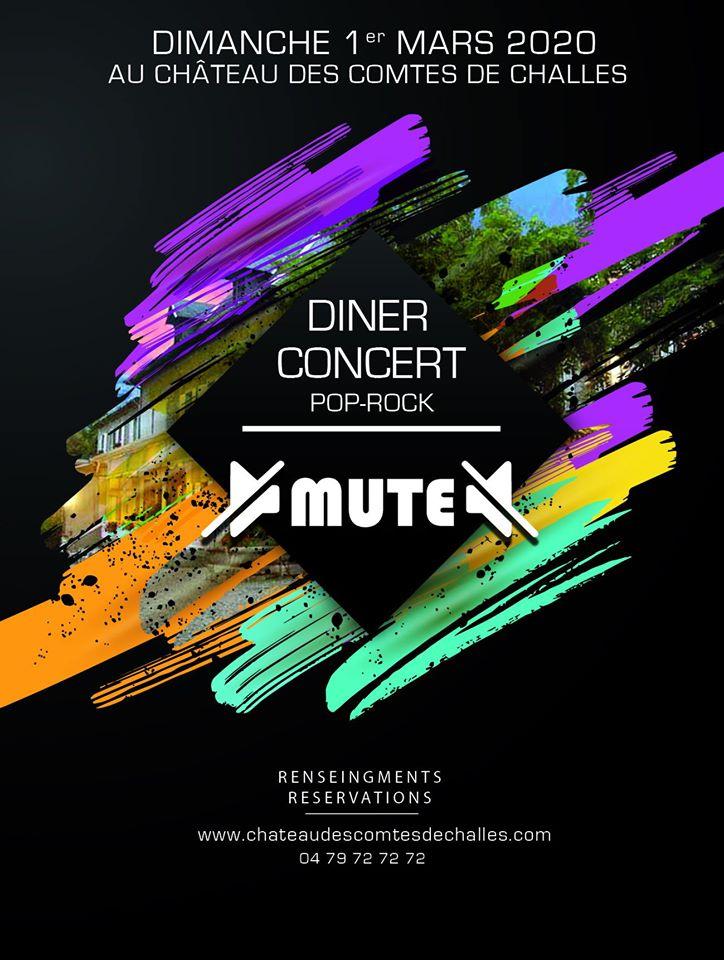 DINER CONCERT - POP ROCK avec MUTE