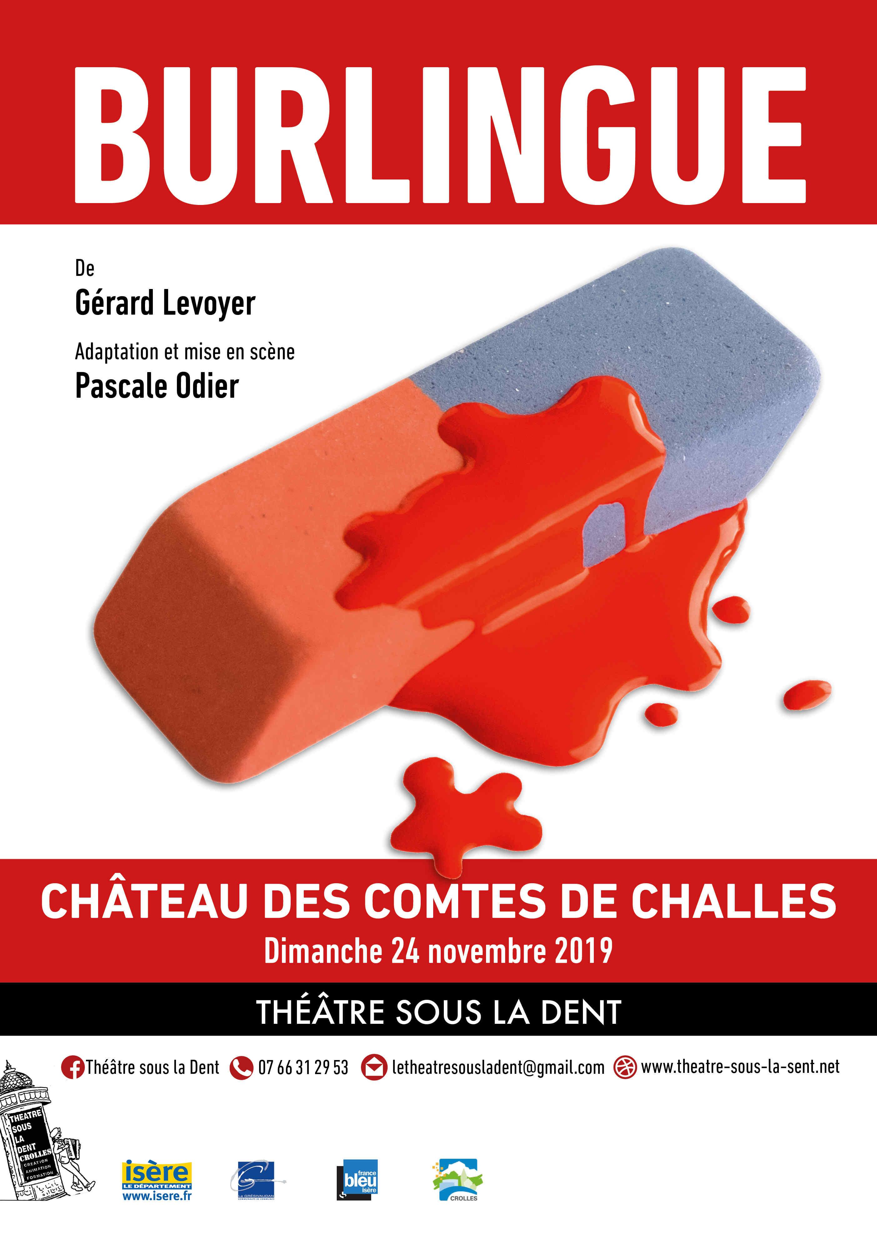 """Dîner Théâtre """"Le Théâtre sous la Dent"""""""