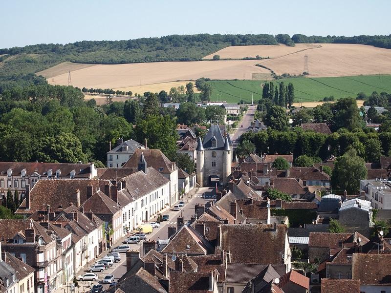 Visite avec tablette - centre historique Villeneuve-sur-Yonne