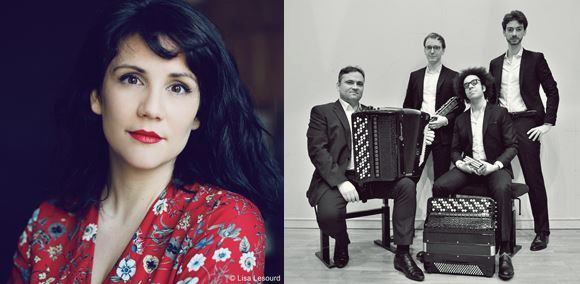 Festival - Camille Poul & Quatuor Aeolina - Valserres