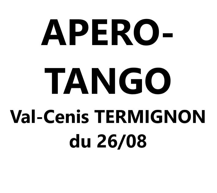 Apéro Tango à Val-Cenis Termignon VAL-CENIS Termignon