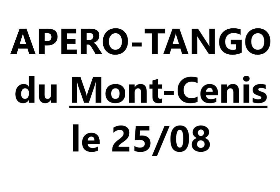 Apéro Tango au Mont-Cenis VAL-CENIS