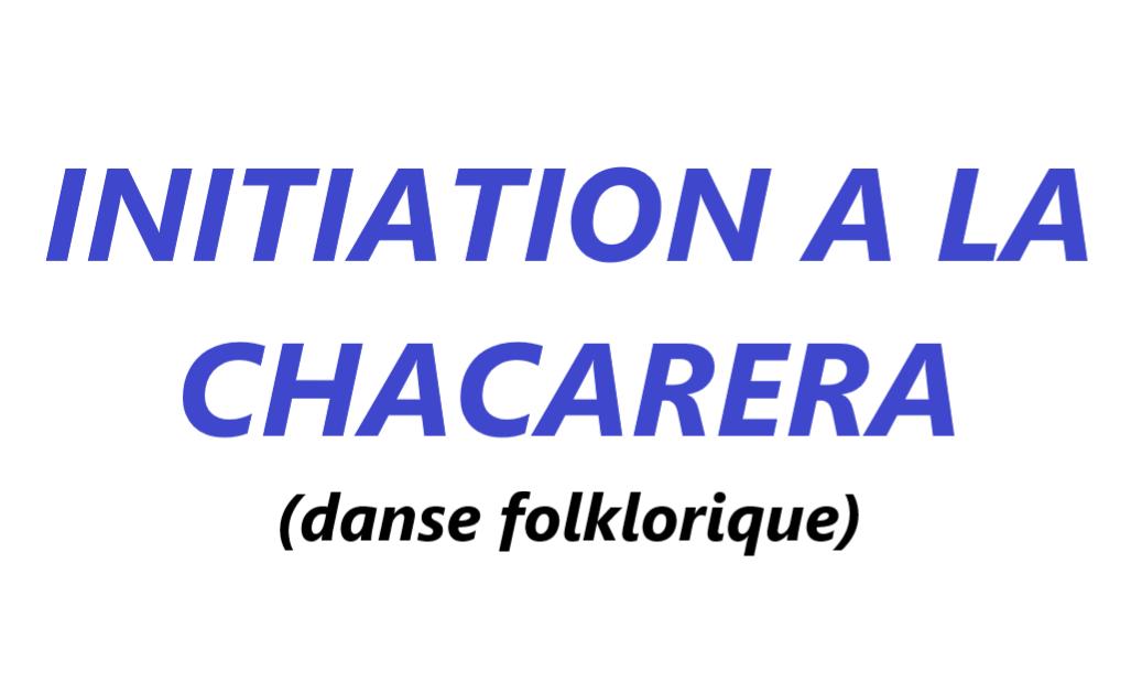 Initiation à la chacarera (danse folklorique)  VAL-CENIS Lanslevillard