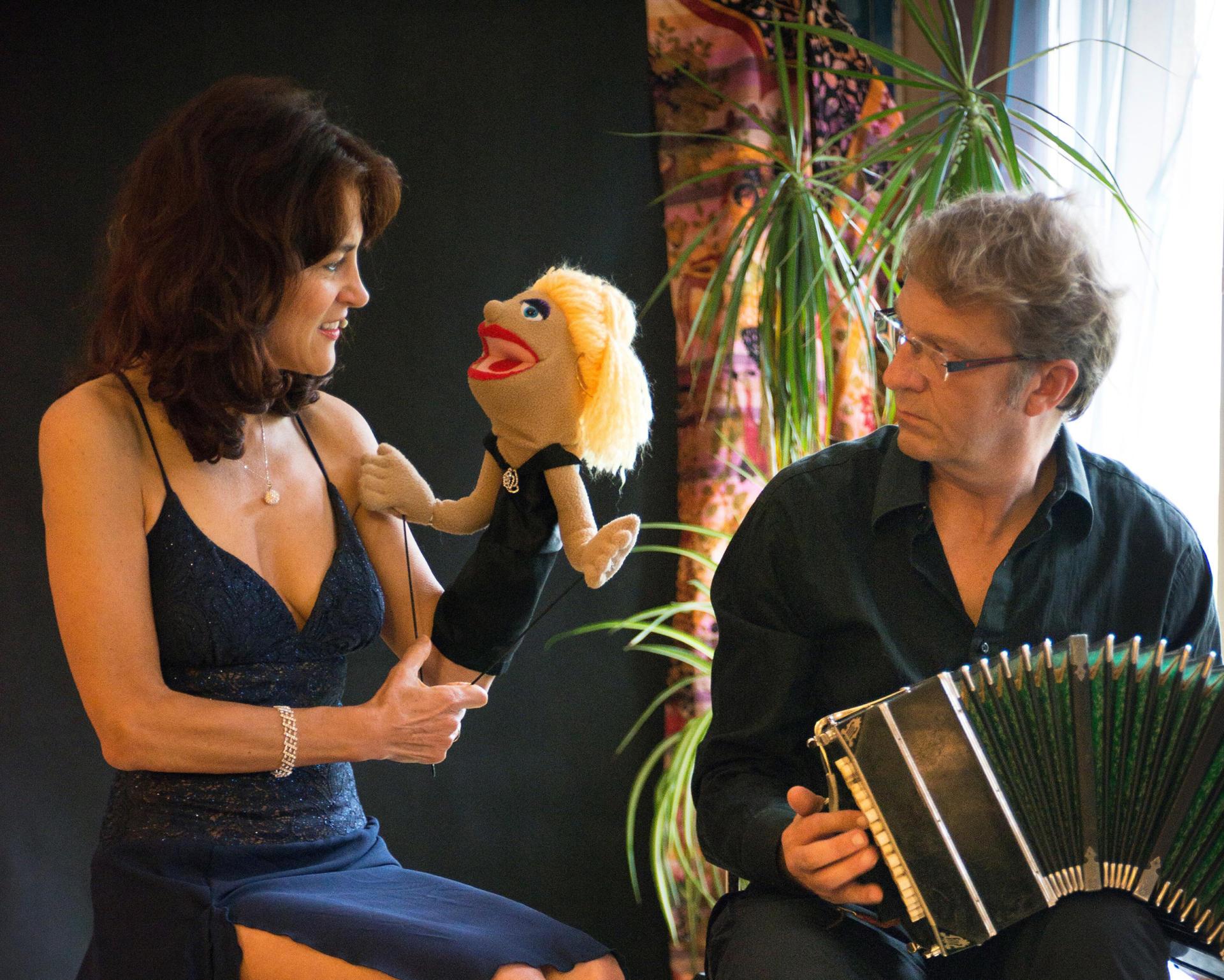 """Spectacle """"Concert Magique de Tango pour Marionnettes"""" VAL-CENIS"""