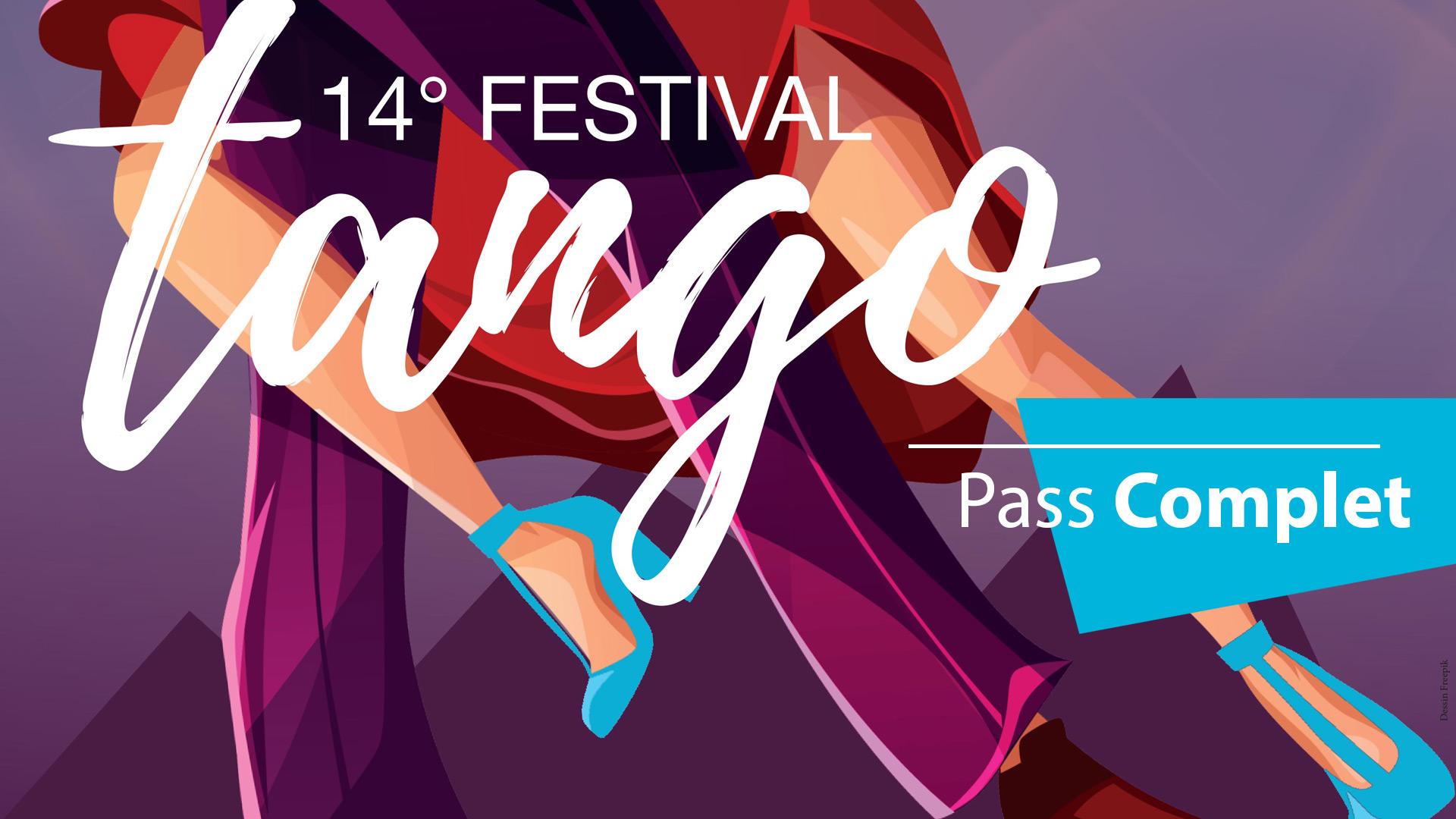 Pass complet Festival de Tango 2019