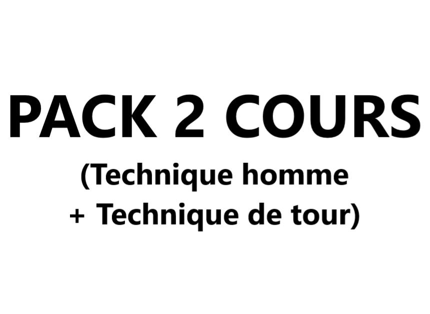 Pack 2 cours (Cours 4 Technique homme + Cours 9 Technique de tour) VAL-CENIS Lanslevillard