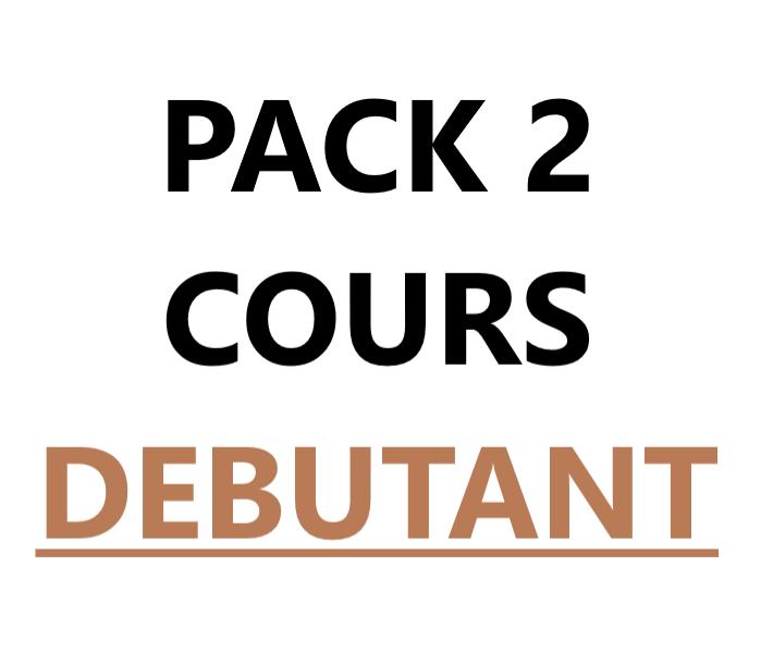 Pack 2 cours débutant VAL-CENIS Lanslevillard
