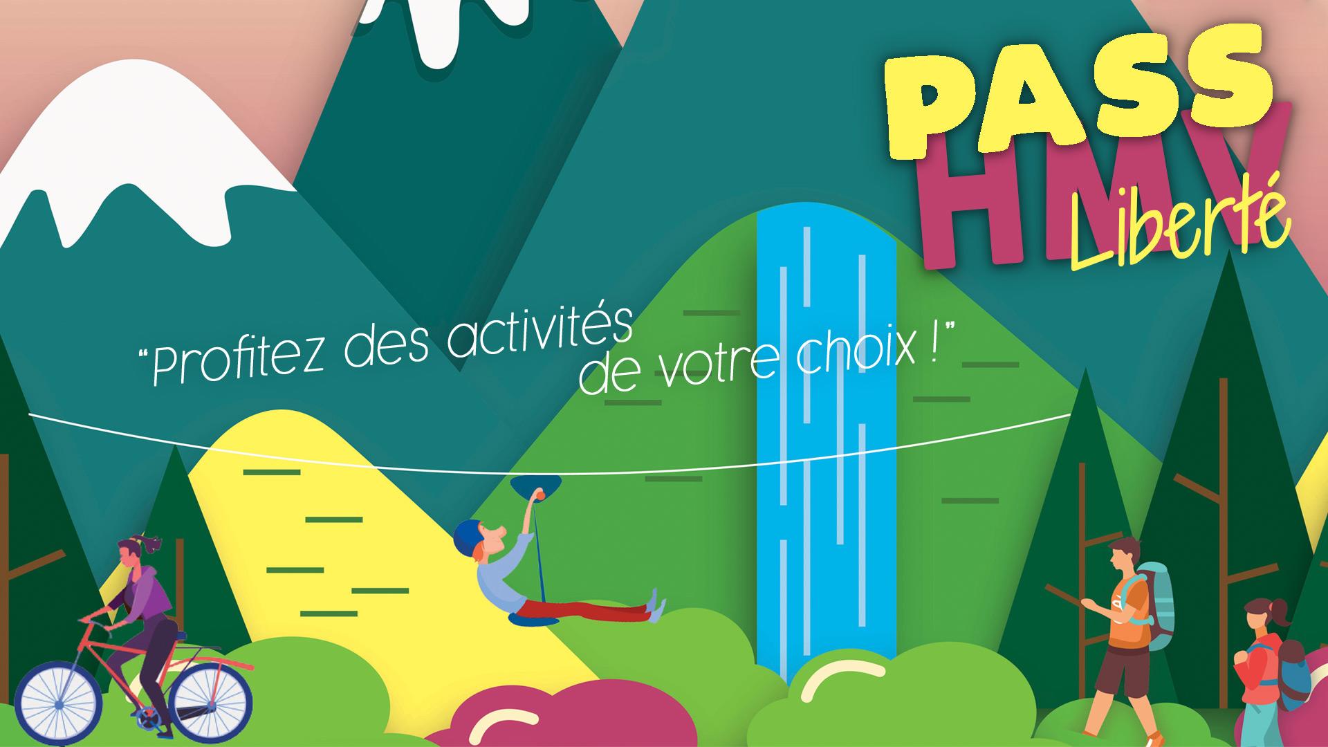 """Pass Activités """"Liberté"""" Haute Maurienne Vanoise VAL CENIS LANSLEBOURG"""