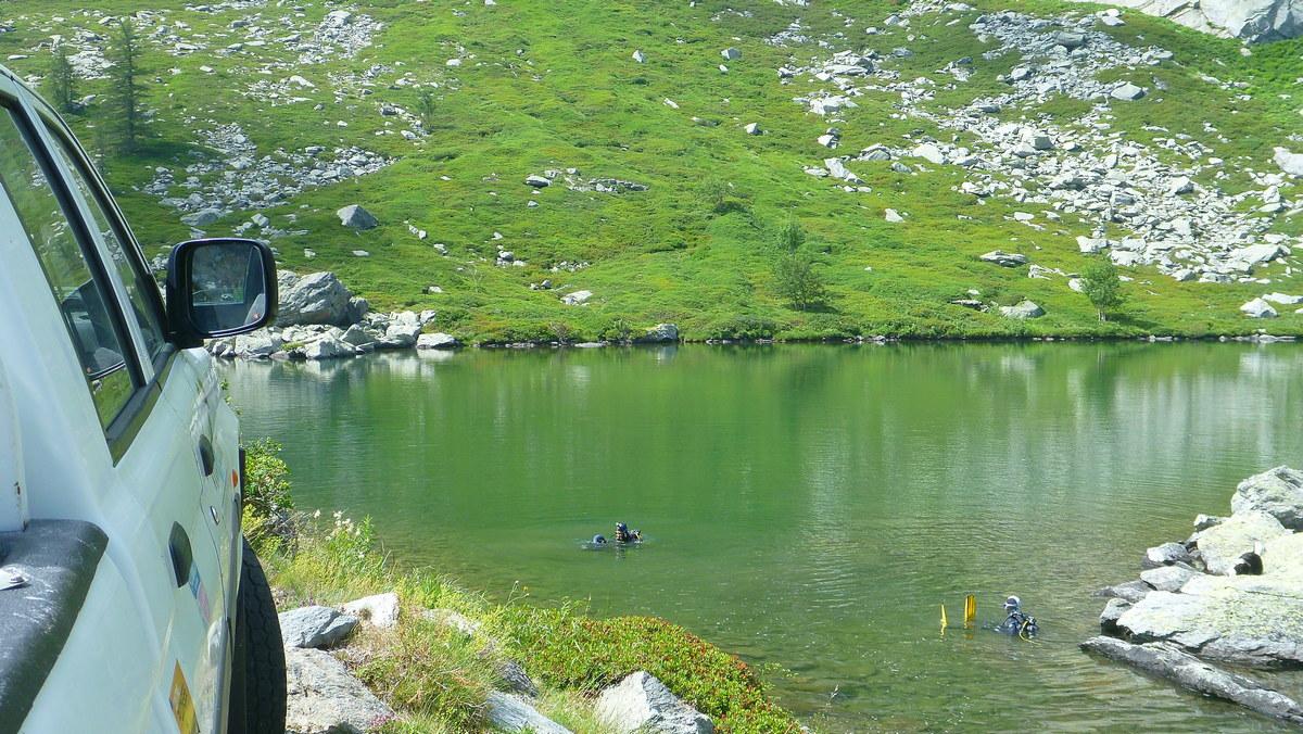 Plongée en lac d'altitude Val cenis