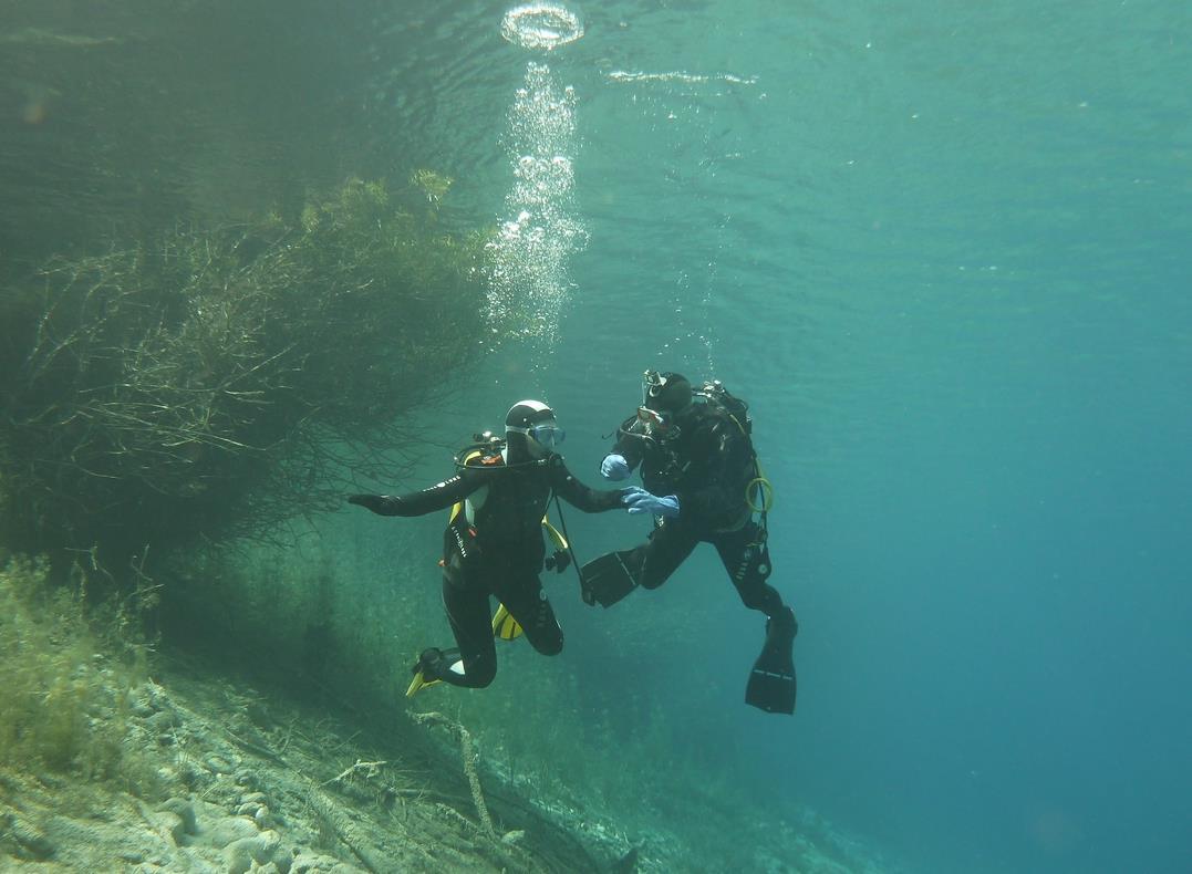 Plongée en Italie Val cenis