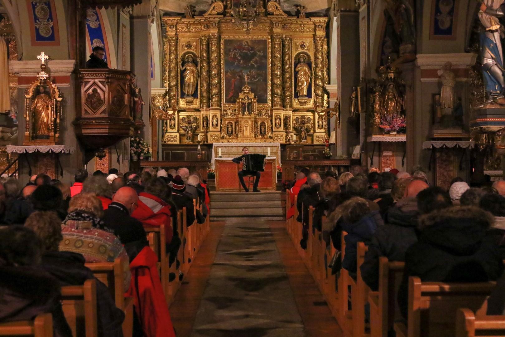 Concert à l'église FNA 2020 Termignon