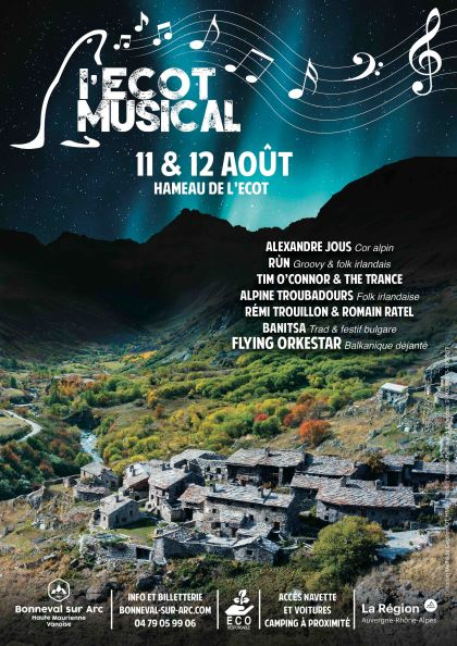 Pass L'Ecot Musical Bonneval-sur-Arc