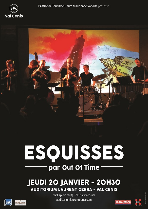 "Concert jazz graphique ""Esquisses"" Val Cenis Lanslebourg"