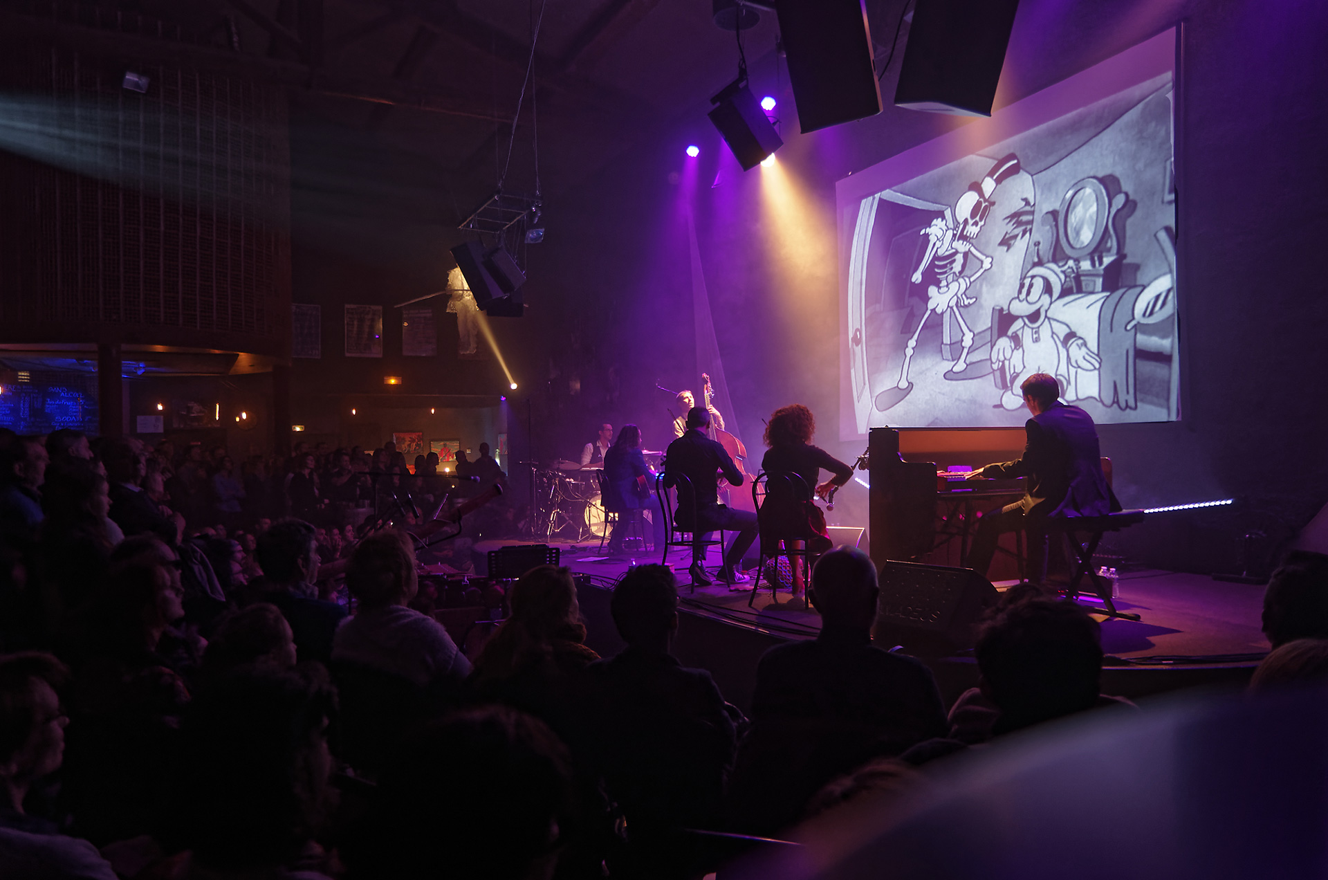 Flip la Grenouille, le ciné-concert Val Cenis Lanslebourg