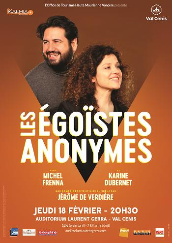 """Comédie """"Les Egoïstes Anonymes"""" Val Cenis Lanslebourg"""