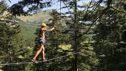 Parcours acrobatique Accrobuêch - En Montagne Lus la Croix-Haute