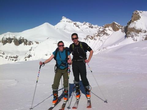Le Rama ou La plate des Serres en Ski de randonnée La joue du Loup