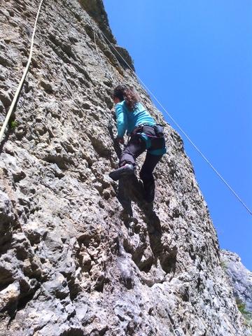 Ecole escalade  la Roche des Arnauds