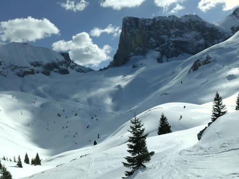 Vallon d'Ane en ski de rando Le Dévoluy