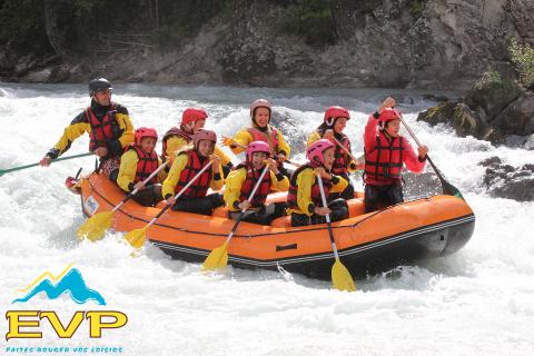 Rafting découverte Durance - Printemps - automne Chateauroux les Alpes