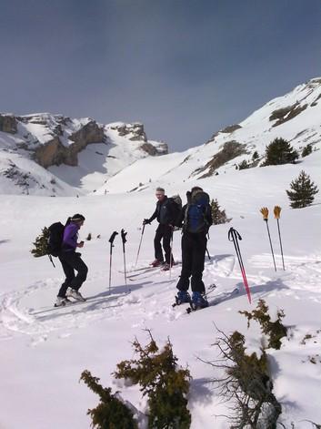 Ski de Randonnée découverte 1/2 journée Le Dévoluy