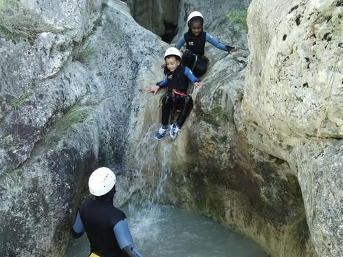 canyon enfant marmites du diable La Faurie