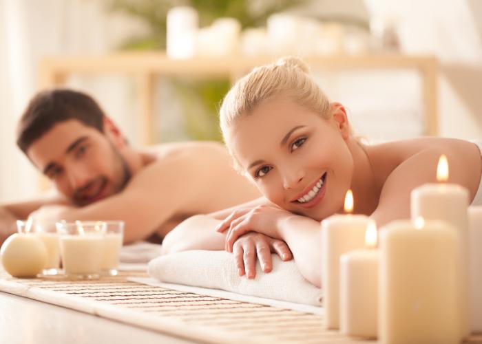 Massage tandem en famille
