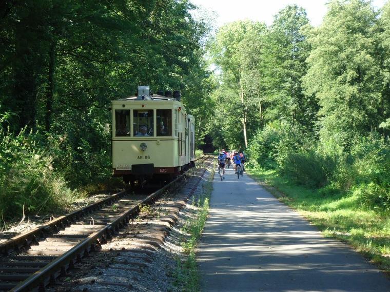 "Special tram rental  ""Museum  +  Tram  Thuin - Biesme-sous-Thuin"""