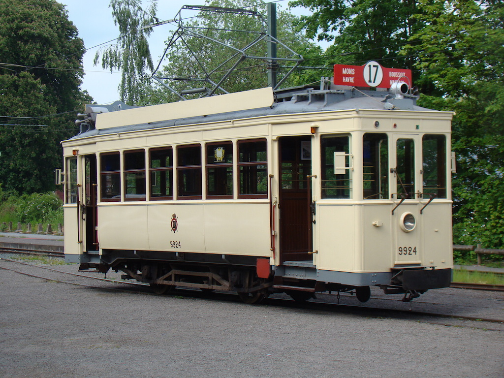 """Special tram rental  """"Museum  +  Tram  Thuin - Lobbes and Biesme-sous-Thuin"""""""