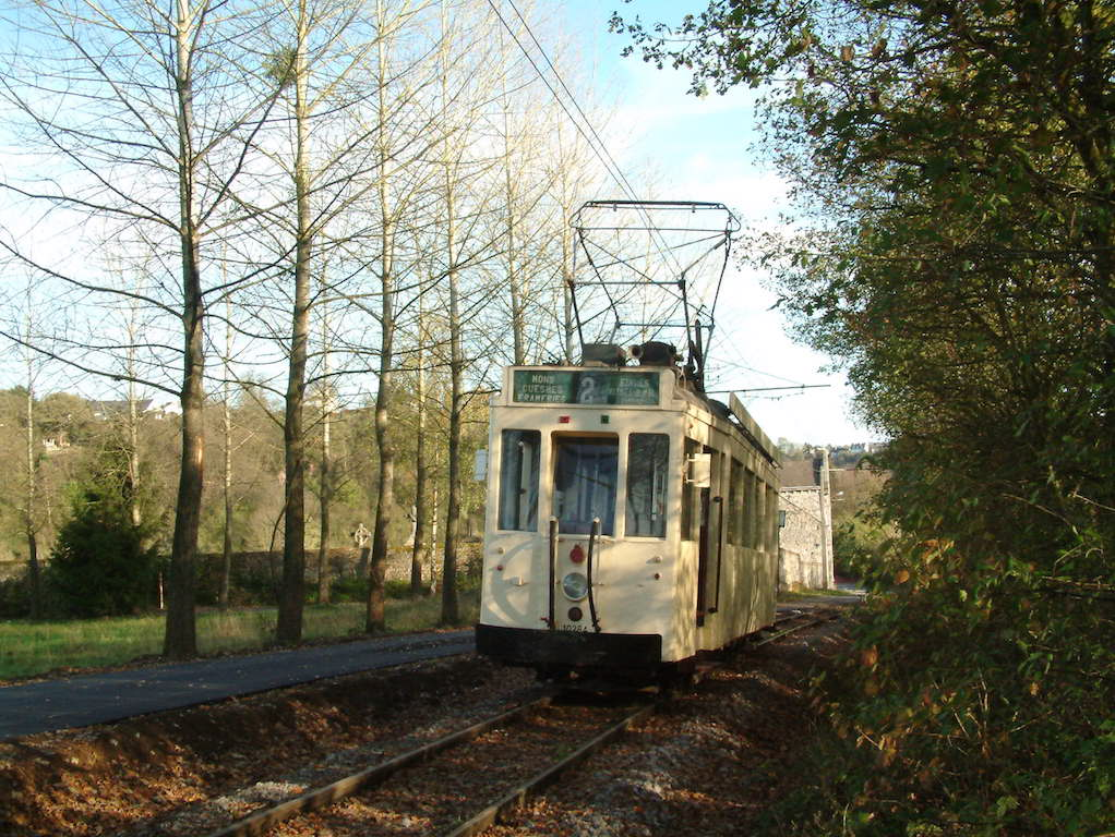 "Speciale tramhuur  ""Museum  +  Tramtrip  Thuin - Lobbes"""