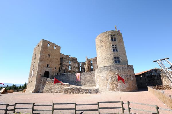La visite libre du château