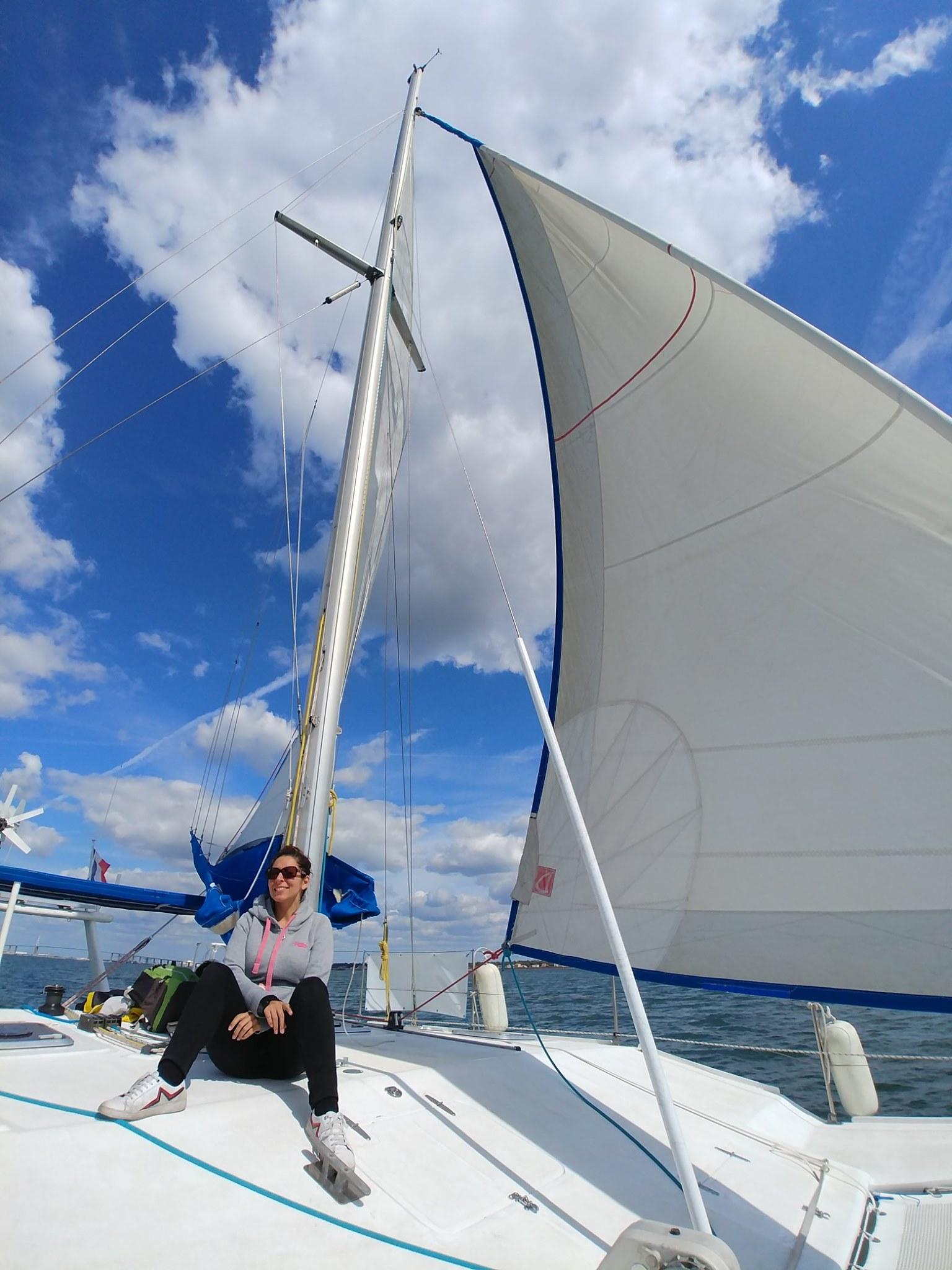 Sortie d'une demi journée en catamaran