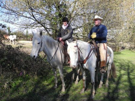 Promenade à cheval d'une heure dans les chemins du Bocage Normand