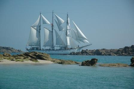 Chèque cadeau : navigation à bord du Marité (2020)
