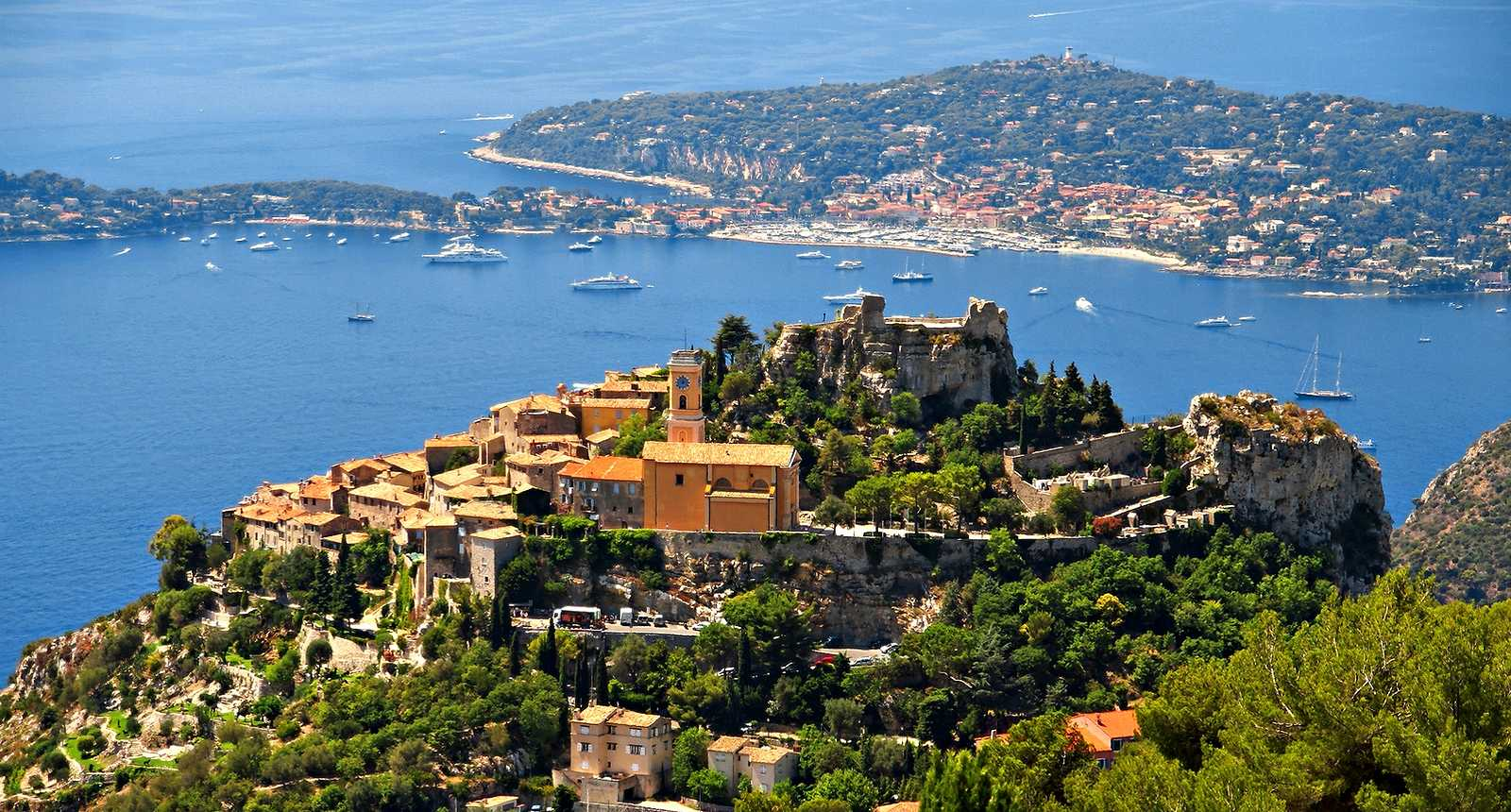 The Monaco half-day tour : Eze, Monaco & Monte-Carlo