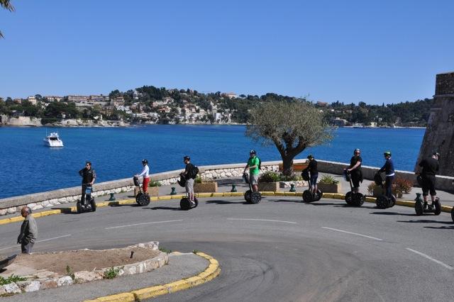 Segway de Nice à Villefranche-sur-mer