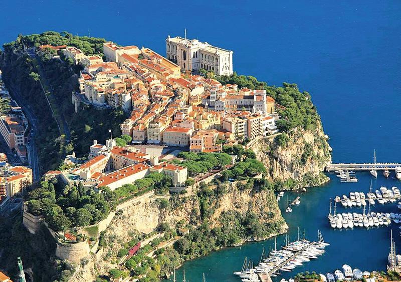 Monaco et les villages perchés