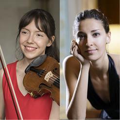 Alexandra COOREMAN (violon) et Christia HUDZIY (piano)