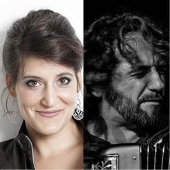 Sarah LAULAN (mezzo-contralto) et Rémy POULAKIS (ténor et accordéon)