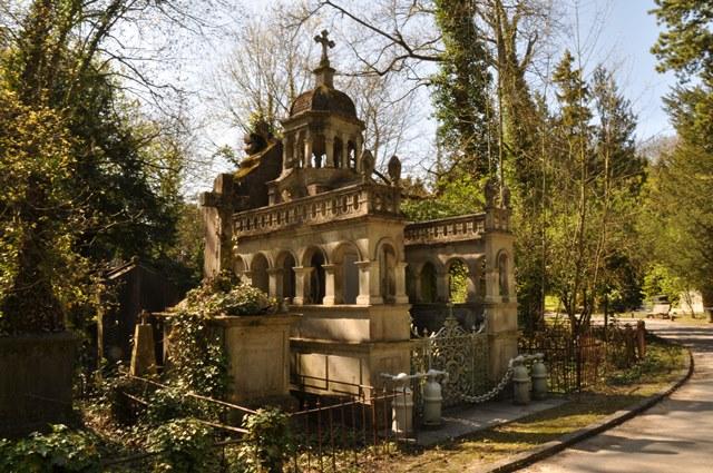 Le cimetière de la Madeleine