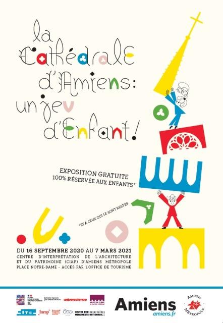 La cathédrale d'Amiens : un jeu d'enfant